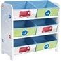 EuroToys - Förvaringshyllor med lådor - Bilar