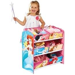 Worlds Apart - Förvaringshyllor med lådor - Disney Prinsessor