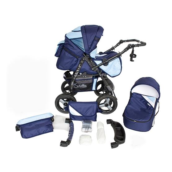 Barnvagn - Lirdo Kombi - Blue