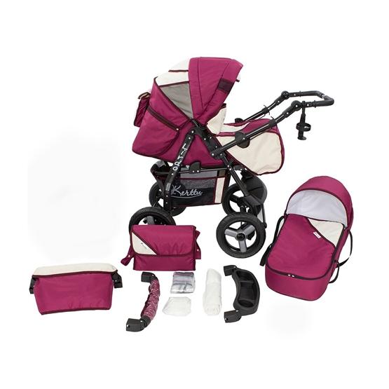 Barnvagn - Lirdo Kombi - Purple