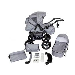 Barnvagn - Lirdo Kombi - Outdoor Grey