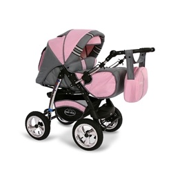 Baby Merc - Agat 2 Kombi 3 In 1 - Rosa
