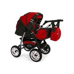 Baby Merc - Agat 2 Kombi 3 In 1 - Röd/Grå