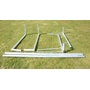 Avyna - 2 St Fotbollsmål - Aluminium - 3x2x1,6