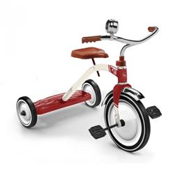 Baghera - Trehjuling - Vintage Röd