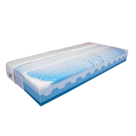 "Benlemi - Hälsomadrass Med ""Cold Foam"" - Ocean - 120x160 Cm"
