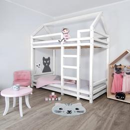 Benlemi - Våningssäng - Hussäng Twiny - 120x190Cm