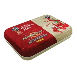 Fotbollskort - 1st Pocket Tin - Nordic Edition Panini Adrenalyn XL World Cup 2018