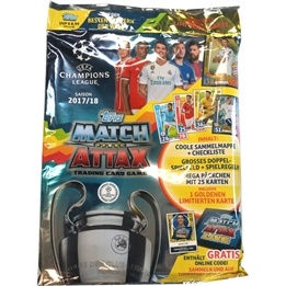 Fotbollskort - Startpaket 2017-18 Topps Match Attax Champions League (International Edition)
