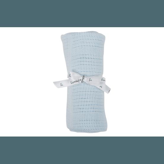 CuddleCo - Comfi-Love Gallerfilt Blå 90 x 60 cm