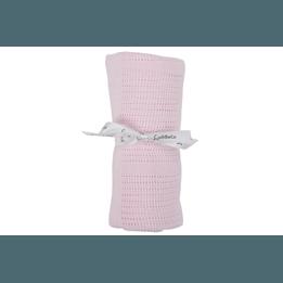 CuddleCo - Comfi-Love Gallerfilt Rosa 90 x 60 cm