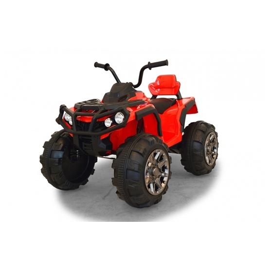 Jamara - Fyrhjuling Röd Protector Quad 12 volt