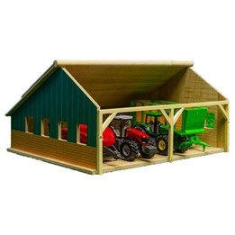 Kids Globe - Maskinhall För Siku Traktorer - Skala 1:50