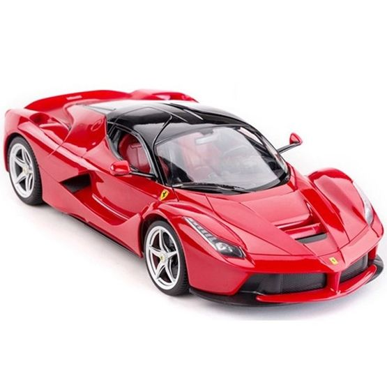 Jamara - Radiostyrd Bil Ferrari Laferrari Röd Rastar. 1:14