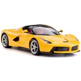 Rastar - Radiostyrd Bil Ferrari LaFerrari Gul 1:14