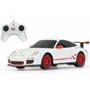 Rastar - Radiostyrd Bil Porsche Gt3 Rs Rastar 1:24 Vit 27Mhz