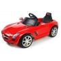 Rastar - Elbil  Röd Mercedes-Benz Sls Amg. Rastar 6 Volt.
