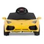 Rastar - Elbil Barn Gul Lamborghini Aventador Lp 700-4. Rastar 6 Volt.