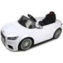 Rastar - Elbil  Vit Audi Tts Roadster. 12 Volt. Rastar