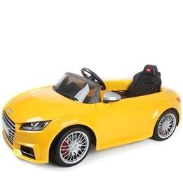 Rastar - Elbil  Audi Tts Roadster Gul. Rastar 12 Volt.