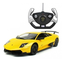 Rastar - Radiostyrd Bil Lamborghini Murciélago Lp670-4 Sv Gul 1:14