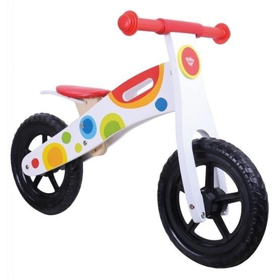 Tooky Toy - Springcykel Och Balanscykel I Trä Tooky Toy