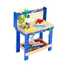 Woodi World Toy - Arbetsbänk För Barn