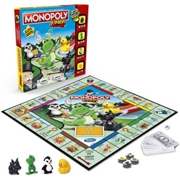 Monopoly Junior New Edition (Sv/Fi)