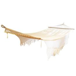 Hamaca - Elegance hängmatta - Ecru (naturvit)