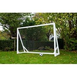 Homegoal - Fotbollsmål - Pro XL 300x200cm - Vit