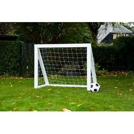 Homegoal - Fotbollsmål - Pro Micro 125x100cm - Vit