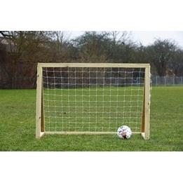 Homegoal - Fotbollsmål - Classic Mini 150x120cm - Natur