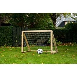 Homegoal - Fotbollsmål - Classic Micro 125x100cm - Natur