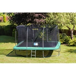 Jumpking - Studsmatta - Rektangulär - 430x300 Cm - Grön