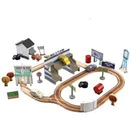 Kidkraft - Tågbana - 50 Pc Thomasville Track Set