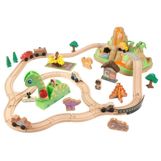 Kidkraft - Tågbana - Bucket Top Dinosaur Train Set