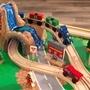 Kidkraft - Aktivitetsbord - Adventure Town Railways