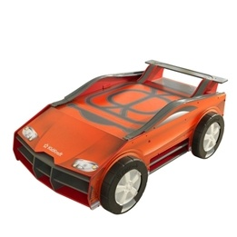 Kidkraft - Aktivitetsbord - Speedway Play n Store