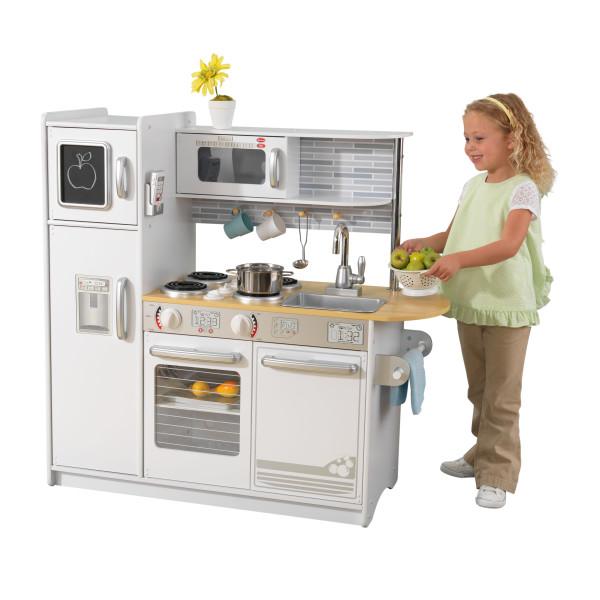 White Uptown Kitchen Kidkraft