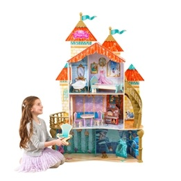 Kidkraft - Dockskåp - Ariel Land To Sea Castle Dollhouse