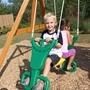 Kidkraft - Gungställning - Brookridge Wooden Swing Set