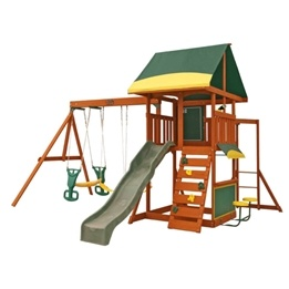 Kidkraft - Gungställning - Brookridge Wooden Swing Set