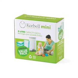 Korbell - MINI Refill 3-pack