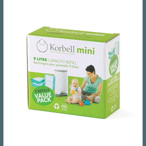 Korbell - MINI Refill 3-pack