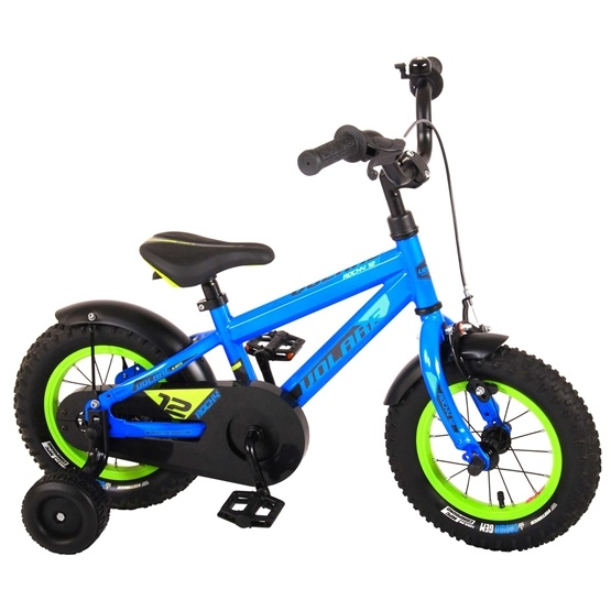 Barncykel Volare Rocky 14 tum (Blå/Grön)