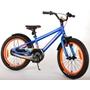 Barncykel Volare Rocky 18 tum (Blå/Orange)