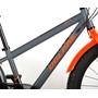 Barncykel Volare Rocky 24 tum (Svart/Orange)