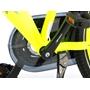 Barncykel Volare Thombike City 24 tum - Pakethållare (Neongul)
