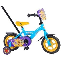 Toy Story 4 Barncykel 10 tum - Stödhjul, styrstång