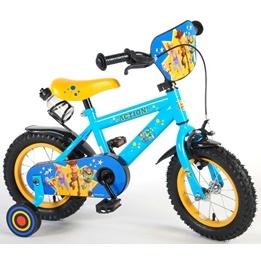 Toy Story 4 Barncykel 12 tum - Stödhjul, flaskhållare, frontplatta